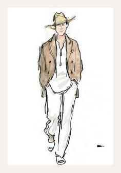 reminds me of scotty utz, the quaker cowboy
