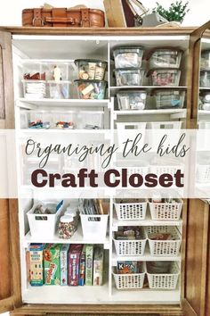 Give your craft area a facelift and make it easier to find all your items! Decor Style Home Decor Style Decor Tips Maintenance Fun Crafts To Do, Diy Crafts For Kids, Home Crafts, Diy Home Decor, Art Crafts, Craft Ideas, Sewing Room Organization, Kitchen Organization, Organization Ideas