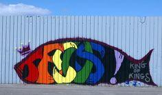 Jesus graffiti Shankill
