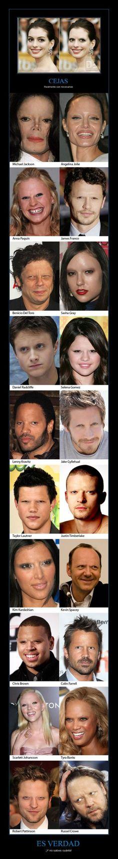 La importancia de las cejas!!!