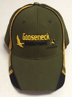 Gooseneck Implement Hat John Deere The Power Behind The Paint North Dakota  ND 3e9ecaf899f1