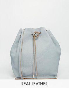 ASOS Evie Premium Leather Duffle Bag at asos.com #bag #covetme
