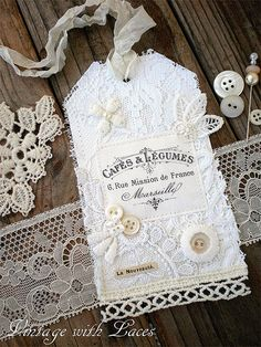I don't like lace, but i like this :) from: The Graphics Fairy