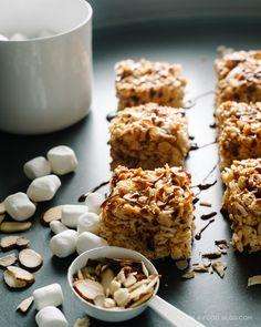 coconut almond rice krispies | www.iamafoodblog.com