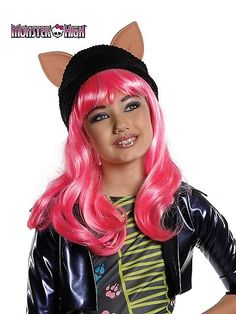 Kids Monster High Howleen Wolf Wig