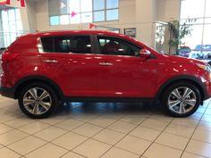 Kia Sportage Red 2014