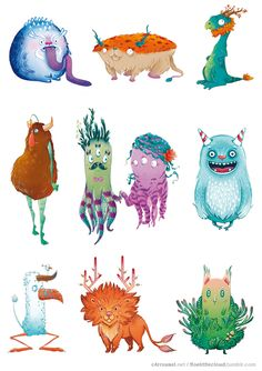 Bestiary C4rrousel and FLOE by Floe Florence Guittard, via Behance