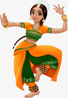 Find Indian Dancer Cartoon Vector Isolated Character stock images in HD and millions of other royalty-free stock photos, illustrations and vectors in the Shutterstock collection. Dance Paintings, Indian Art Paintings, Cartoon Kunst, Cartoon Art, Cartoon Illustrations, Cartoon Images, Dancing Drawings, Art Drawings, Indian Illustration