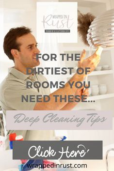 Are you a clean freak? That's okay! But don't spend your life cleaning--save time by using 28 deep cleaning tips for all those tricky cleaning jobs in your home. #wrappedinrustblog #deepcleaningtips Mattress Cleaning, Oven Cleaning, Deep Cleaning Tips, Toilet Cleaning, Kitchen Cleaning, House Cleaning Tips, Diy Cleaning Products, Bathroom Cleaning Checklist, Cleaning Bathroom Tiles