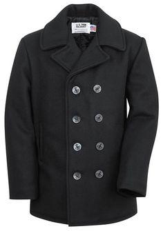 740 - Classic Navy Pea Coat