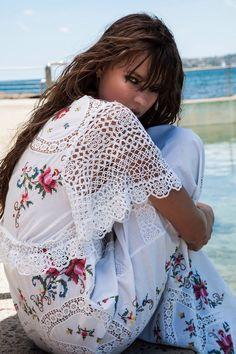 Nevenka stunning floral lace dress!