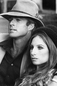 Barbra Streisand and Robert Redford in Butch Cassidy and the Sundance Kid Robert Redford, Hollywood Stars, Classic Hollywood, Old Hollywood, Old Movies, Great Movies, Sundance Kid, Barbara Streisand, Movie Stars