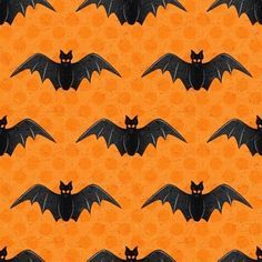 (Pronto para o upload) Fete Halloween, Halloween Prints, Halloween Items, Halloween Bats, Holidays Halloween, Vintage Halloween, Happy Halloween, Halloween Decorations, Halloween Fabric