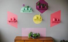 Adorei a ideia do Blog Casa de Colorir! Ficou lindo! Cores lindas!