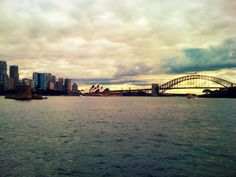Sydney Harbor on our honeymoon