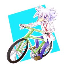 Know what I just realized; I just realized that Joker needs a bicycle. With a bell. AND TASSELS.