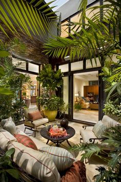 7 Harmonious Tips: Natural Home Decor Ideas Outdoor Spaces all natural home decor essential oils.Natural Home Decor Modern Architecture natural home decor ideas air freshener.Natural Home Decor Diy How To Make. Atrium Design, Patio Design, Plant Design, House Design, Balcony Design, Design Exterior, Interior And Exterior, Exterior Siding, Exterior Remodel