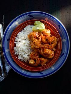 Leslie's Mexican Deviled Shrimp  | #shrimp #spicy #mexicanrecipe