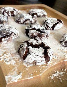 Chocolate Fudge Crinkle Cookies (GF)