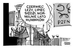 Rysunkowy komentarz Jerzego Krzętowskiego.