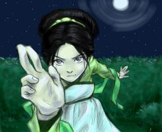 Toph. I still love her! She never gets less cool!!!!!!!!