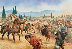 """The Persian cavalry cut off the Greek supply column"""", Peter Dennis Ancient Rome, Ancient Greece, Ancient History, Persian Warrior, Greek Warrior, Greco Persian Wars, Alexandre Le Grand, Achaemenid, Ancient Persian"""