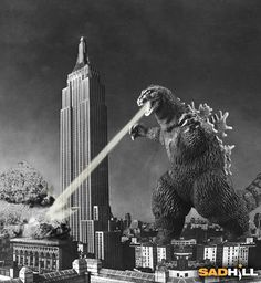 What is the scariest sound in the world? Godzilla marching down your street!!!!