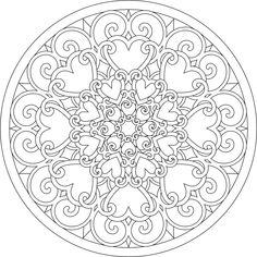 Abstract Coloring Pages Photos