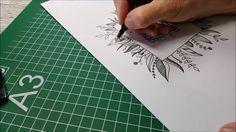 Handletteren, Brushletters, moderne kalligrafie