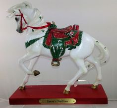 Trail of the Painted Ponies - Santa's Stallion