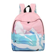 a8f691dc475f Pastel mountain backpack sold by Pollyanna. Shop more products from  Pollyanna on Storenvy