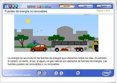 """Fuentes de energía no renovables"" (Ciencias Naturales de Primaria) Teaching, Videos, Science Area, Teaching Resources, Degree Of A Polynomial, February, Fonts, Learning, Education"