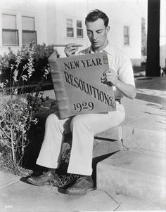 Buster Keaton - New Year Resolutions 1929.