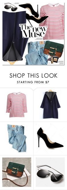 """""""Striped T-Shirt"""" by oshint ❤ liked on Polyvore featuring Dickies"""