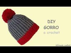 Gorro a crochet para principiantes - YouTube