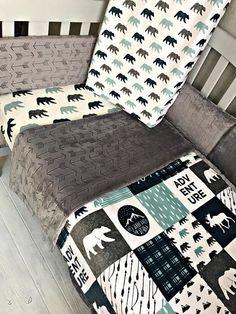 Crib Set Any Print in the Shop. Crib Set Any Print in the Shop. Baby Bedroom, Baby Boy Rooms, Baby Boy Nurseries, Baby Room Decor, Baby Boy Crib Sets, Baby Crib, Nursery Room, Everything Baby, Baby Time