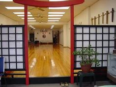 KYUDOKAN KARATE-DO  I would LOVE to train in  a space like this!!