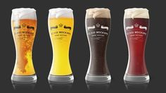 Glass Mockup - Beer Glass Mockup 1 by Alexander Georgiev on @creativemarket