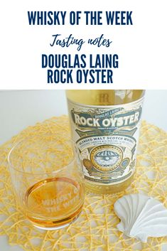 Review and tasting notes for the Rock Oyster Blended Malt whisky Drinks Alcohol, Alcoholic Drinks, Rock Oyster, Strong Drinks, Whisky Tasting, Scottish Islands, Malt Whisky, The Rock, Oysters
