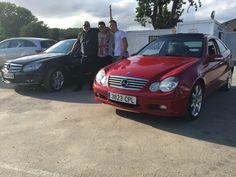 Realizamos la entrega de los Mercedes C 200 SPORTCOUPE Y Mercedes C 220 CDI a la Familia Arcas Saavedra , Gracias por confiar en nosotros os deseamos que los disfrutéis