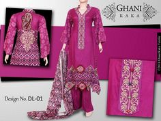 Ghani Textile Mid Summer Collection 2013 For Women