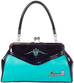 I own this purse, many compliments received. Purse by Sourpuss Clothing
