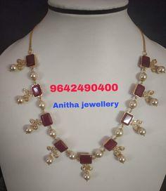 Jewelry Design Earrings, Gold Earrings Designs, Gold Jewellery Design, Necklace Designs, Pearl Jewelry, Gold Necklace Simple, Gold Jewelry Simple, Amman, Emeralds
