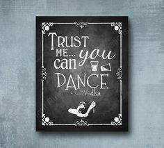 Trust Me You Can Dance Vodka Sign, Wedding Alcohol, Beverage Station Sign, Rustic Wedding Sign, Chal Diy Wedding Bar, Rustic Wedding Signs, Chalkboard Wedding, Wedding Signage, Diy Wedding Decorations, Trendy Wedding, Chalkboard Bar, Kitchen Chalkboard, Fall Wedding