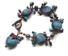 Neptune's Consort Bracelet by nemeton on Etsy