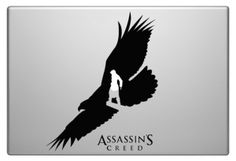 Assassin Creed Eagle Macbook Funny Humor Decal Sticker
