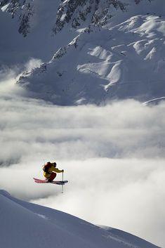 Wow! Dit is skiën voor gevorderden.