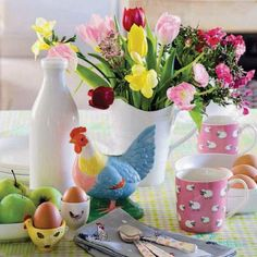 spring decorating ideas for the home | Spring decor in country style