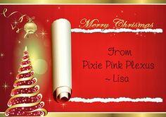 Merry Christmas! Pixie Pink Plexus https://www.facebook.com/pixiepinkplexus
