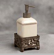Cream Ceramic Soap Dispensers